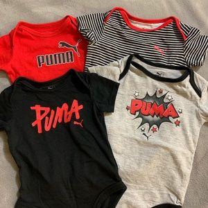 3-6M Puma onesie sets